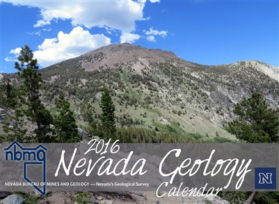 Nevada geology calendar 2016 - Geological survey and mines bureau ...