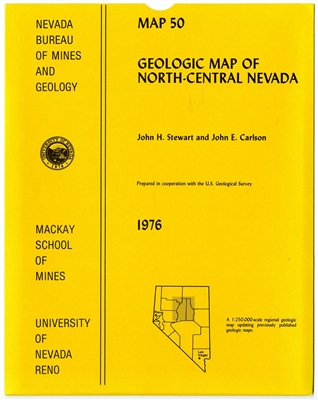 Geologic map of north central nevada - Geological survey and mines bureau ...
