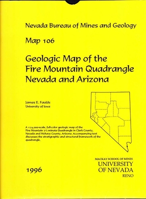 geologic map of the fire mountain quadrangle nevada and arizona map and text. Black Bedroom Furniture Sets. Home Design Ideas