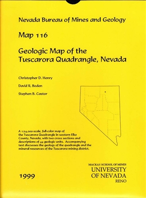 geologic map of the tuscarora quadrangle nevada map and text. Black Bedroom Furniture Sets. Home Design Ideas