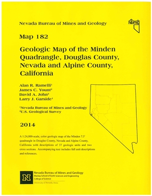 geologic map of the minden quadrangle douglas county nevada and alpine county california map. Black Bedroom Furniture Sets. Home Design Ideas