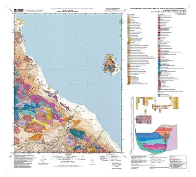 Preliminary geologic map of the sutcliffe quadrangle nevada second edition - Geological survey and mines bureau ...