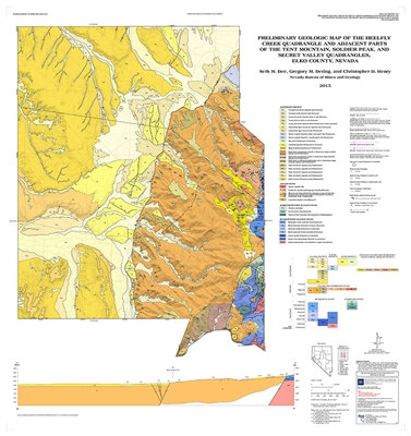 preliminary geologic map of the heelfly creek quadrangle and adjacent parts of the tent mountain. Black Bedroom Furniture Sets. Home Design Ideas