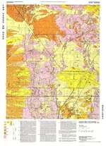 las vegas nw quadrangle geologic map. Black Bedroom Furniture Sets. Home Design Ideas
